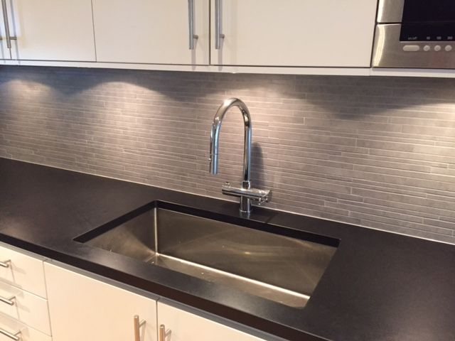 Nero Assoluto Granite In The Kitchen Perfection Kuche