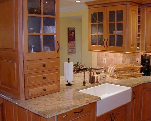 Kitchen Renovations With Caanan Cabinets And Farmhouse Sink