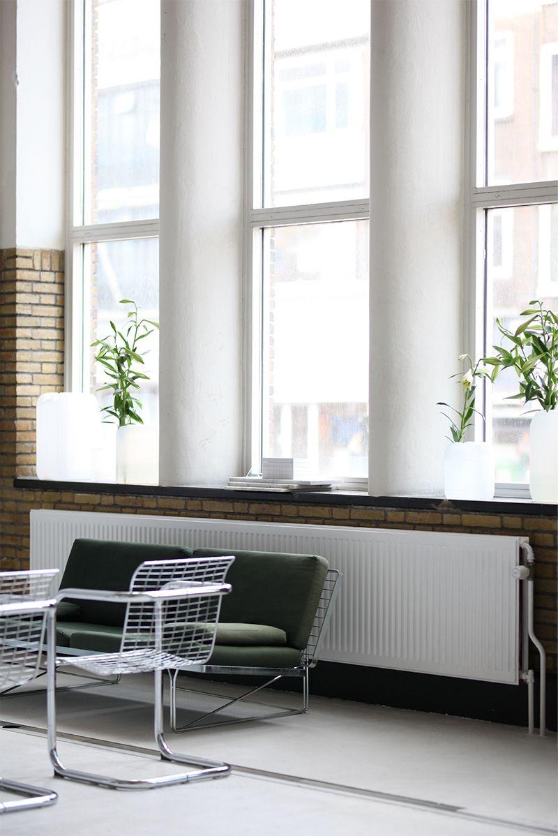 natural light office. Minimalist + Natural Light Office