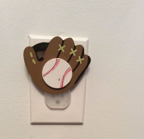 Baseball outlet cover protective outlet cover great gift for any baseball outlet cover protective outlet cover great gift for any occasion great for a nursery sciox Choice Image