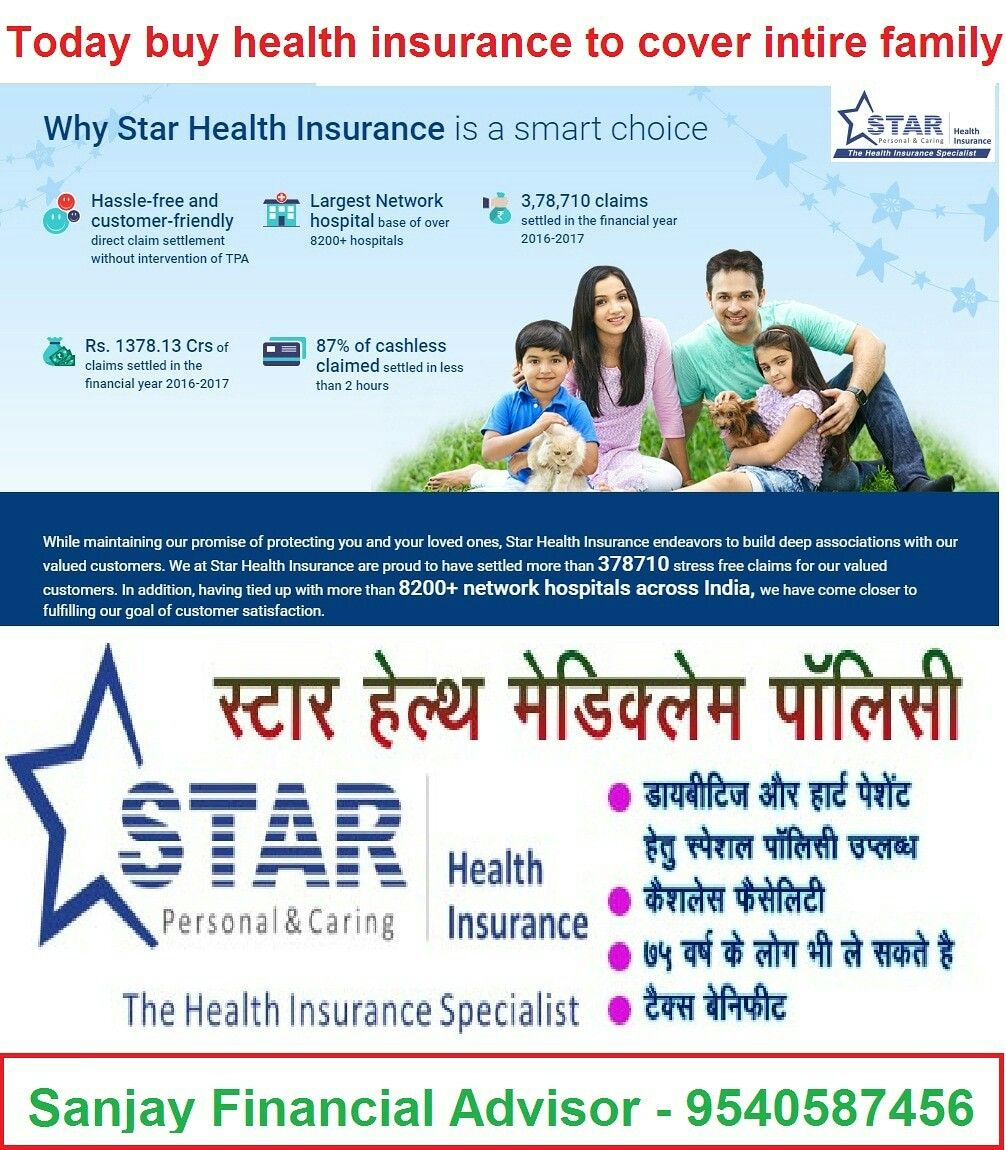 Pin By Baihtar Investments On Star Health Insurance With Images