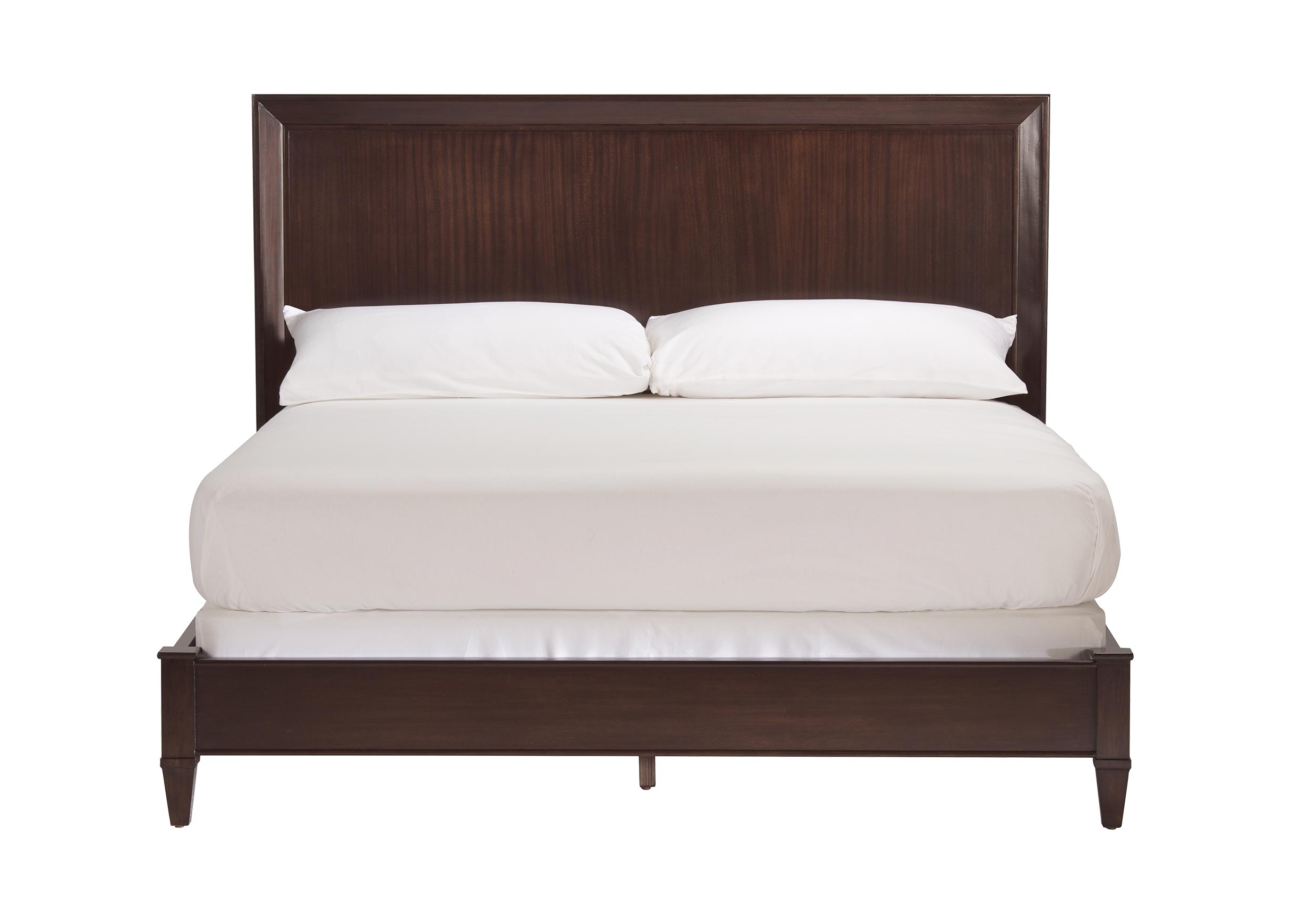 Andover Low Profile Bed Solid wood platform bed, Wood