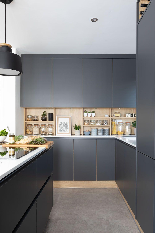 Kitchen Storage for Dark Kitchens | Helpful Kitchen Ideas & Kitchen Inspiration