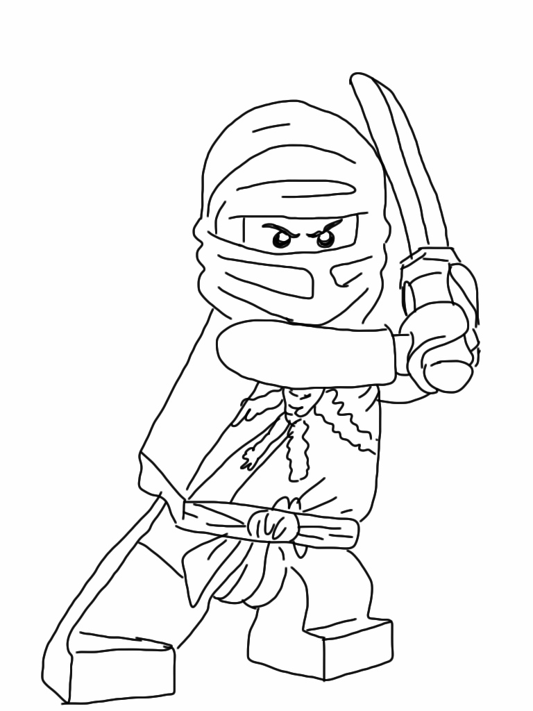 Lego coloring pages   The Sun Flower Pages   Ninjago ...