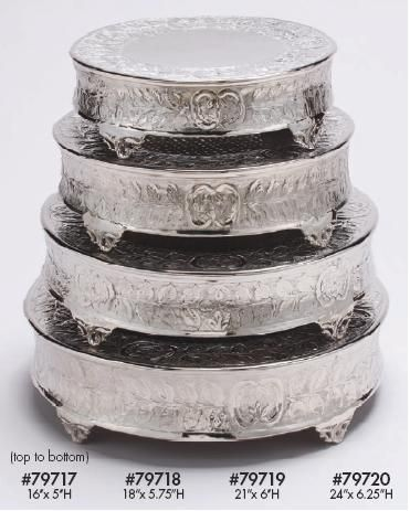 wholesale silver and gold cake stands candelabras pedestals and flower towers