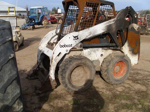Bobcat 773 skid steer  Had engine fire  This has been