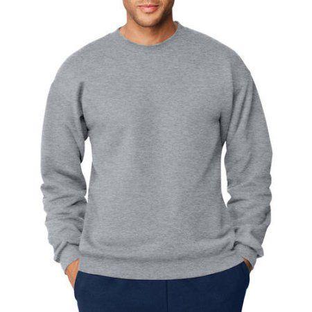 1519edfb Hanes Men's Ultimate Heavyweight Fleece Sweatshirt, Size: Small, Silver