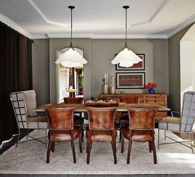 Meubles salle à manger - 87 idées sur lu0027aménagement réussi - table de salle a manger grise