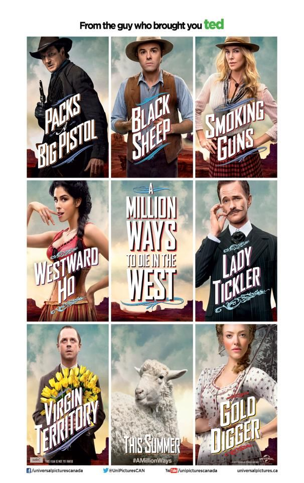 A Million Ways To Die In The West Stream More Looks Movie Posters Love Movie Hot Cocoa Gift