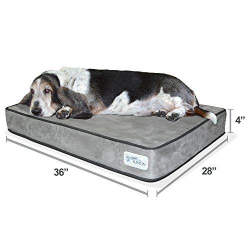 New Petfusion Serenitylounge Dog Bed Large 36x28x 4 Https Www Amazon Com Dp B01ipm8mj0 Ref Cm Sw R P Orthopedic Dog Bed Dog Lounge Bed Sealy Dog Bed