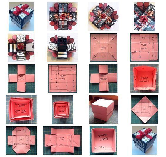 Explosion Box Weihnachtsgeschenke für Familie & Freunde Explosion Box Weihnachtsgeschenke für Famili