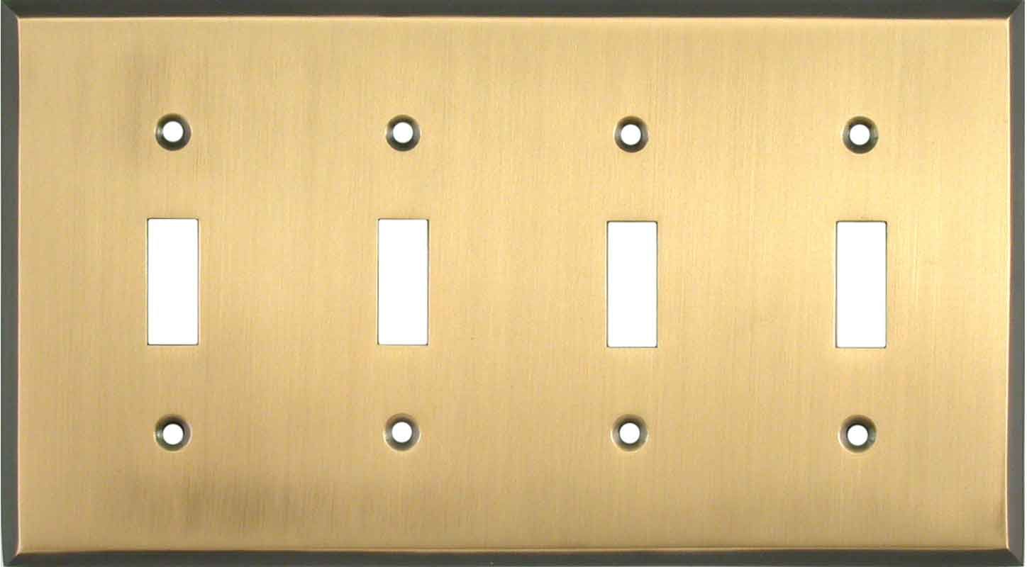 Antique Brass Light Switch Plates, Outlet Covers, Wallplates ...