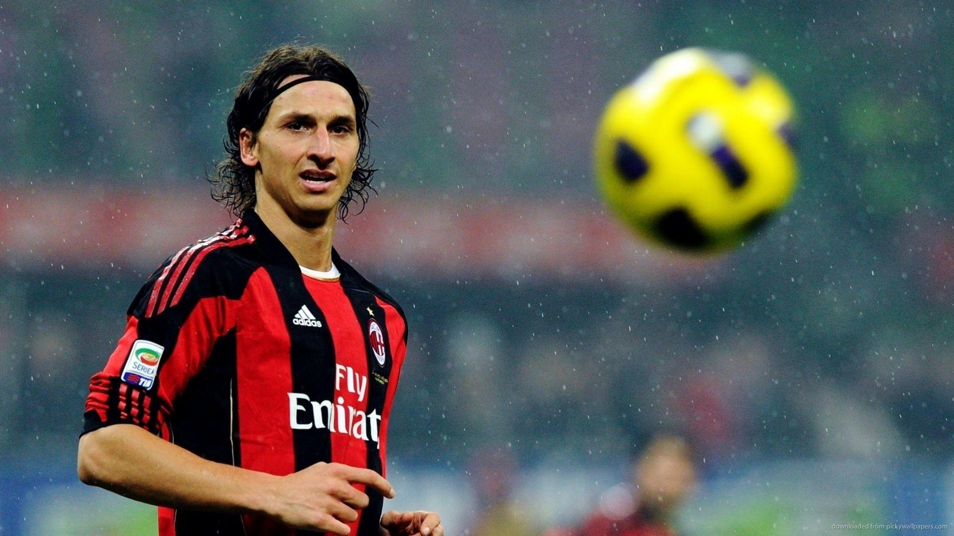 Zlatan Ibrahimovic Hd Wallpaper Zlatan Ibrahimovic Soccer