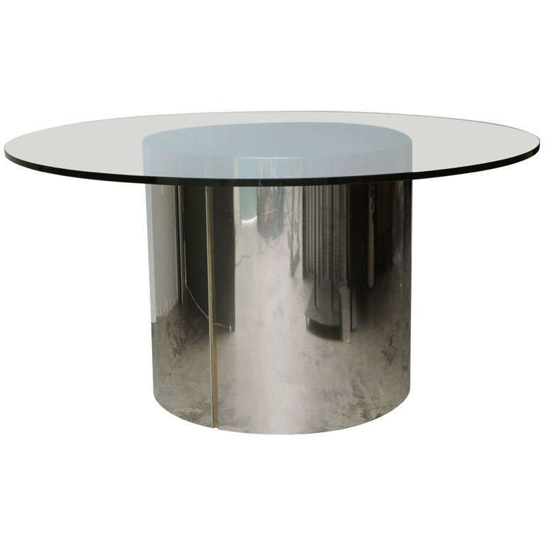 Pace Collection Steel Drum Table | 1stdibs.com
