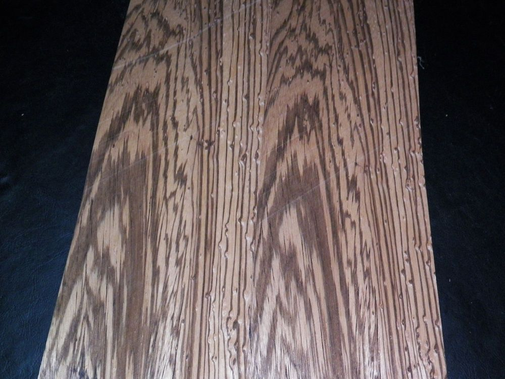 Zebrano Raw Wood Veneer Sheet 5 5 X 49 Inches 1 42nd Thick 7775 6 Rawwoodveneer Wood Veneer Sheets Wood Veneer Raw Wood