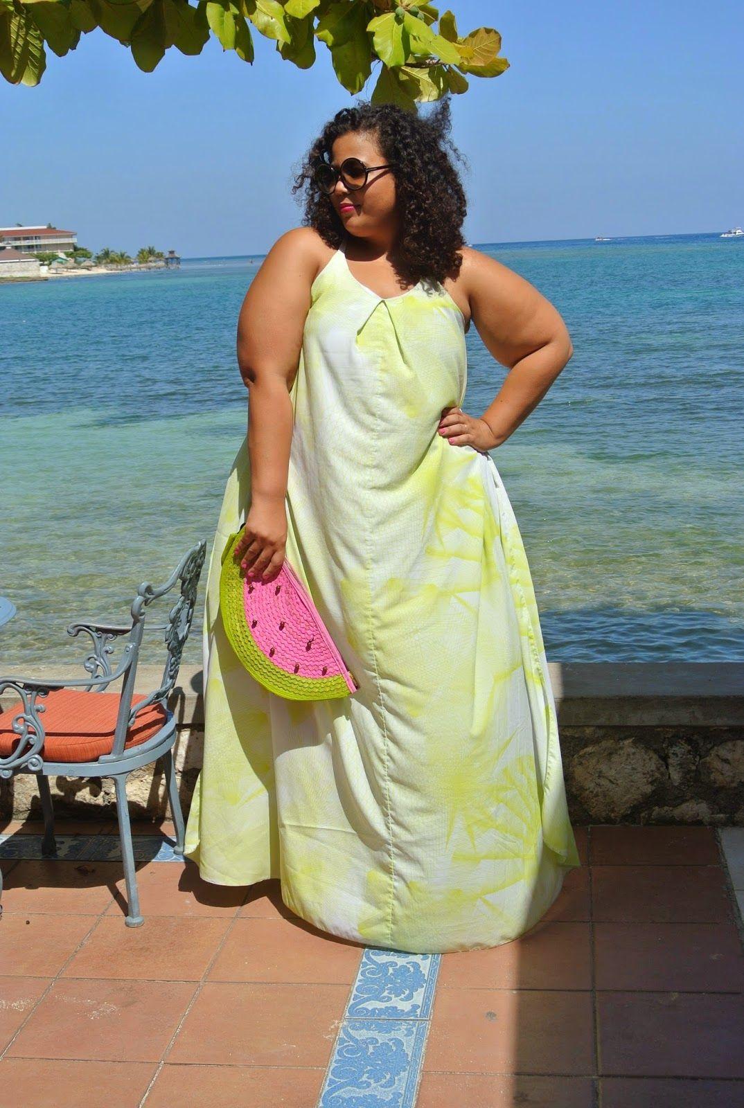 Plus Size Resortwear Halfmoon Bay Jamaica Fashion Plus