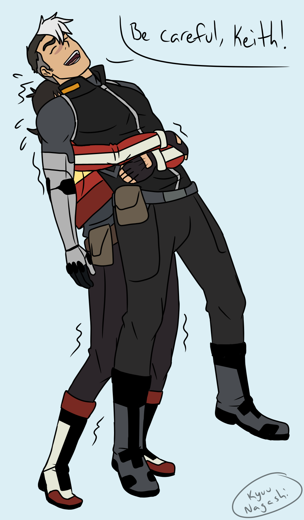 — if you still wanna draw sheith fluff how about...