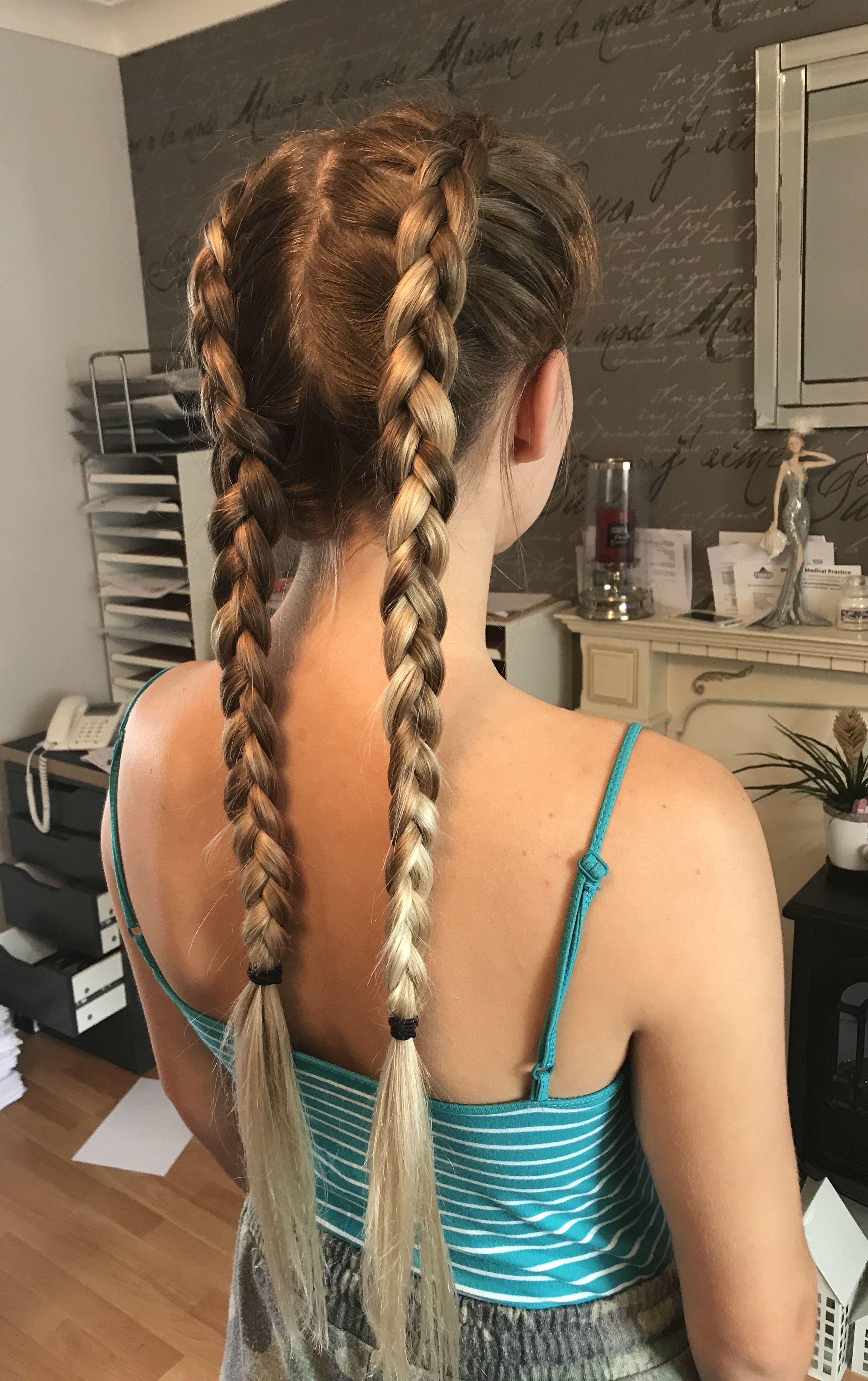 pinjayde holyhead on my hairdressing work | braided