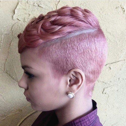Favori Idées Coupe cheveux Pour Femme 2017 / 2018 50 coiffures courtes et  TC16