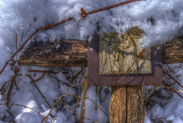 Way of the Cross 8th Station by mehjg, via Flickr