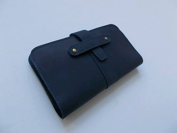 Leather purse leather wallet mens wallet by ArtLeatherDesign