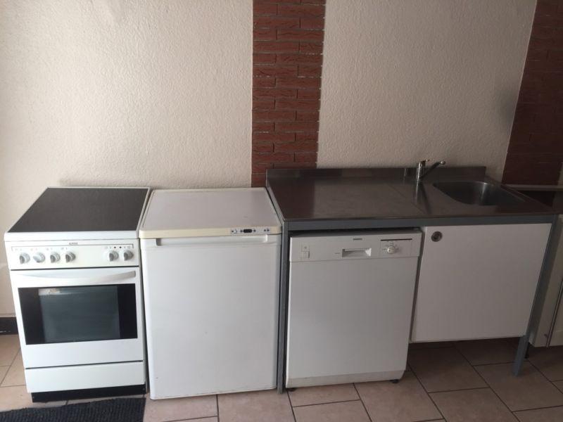 Ikea udden Küche Spülmaschine Backofen Kühlschrank Lieferung mög - gebrauchte k chen wuppertal