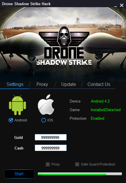 Drone Shadow Strike Hack (Android/iOS) | Safe Files | Hacks, Tools
