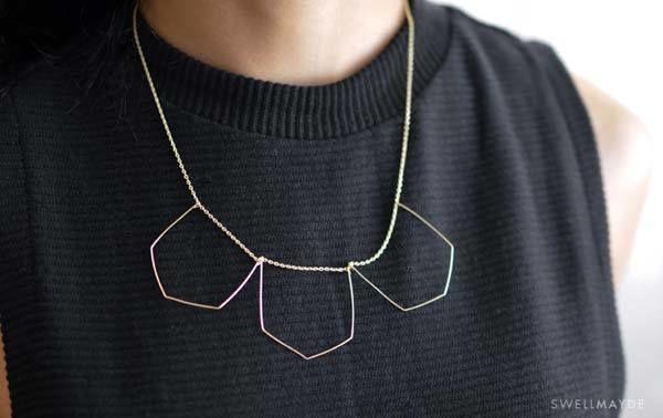 Cómo Hacer Collares De Moda De Ganchillo Pedrería Cuentas…