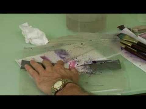 Watercolor Toothbrush Splatter Painting By Cody Davis Splatter