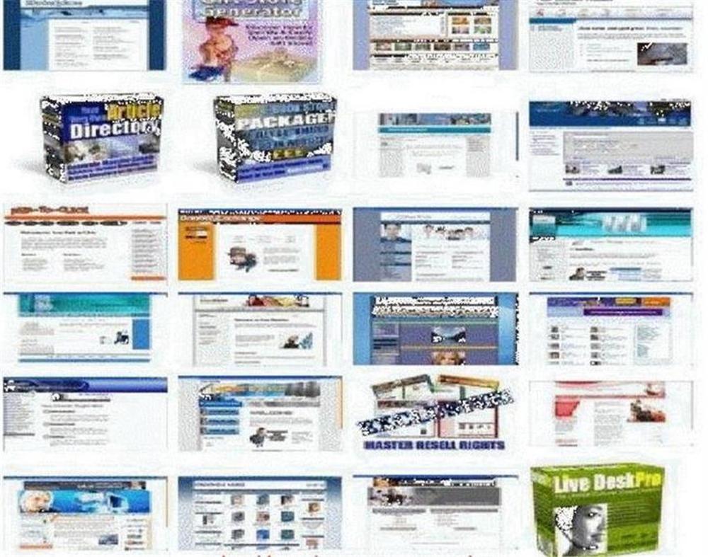 Home Business Make Money Online 1000 Turnkey Websites & PHP Scripts .