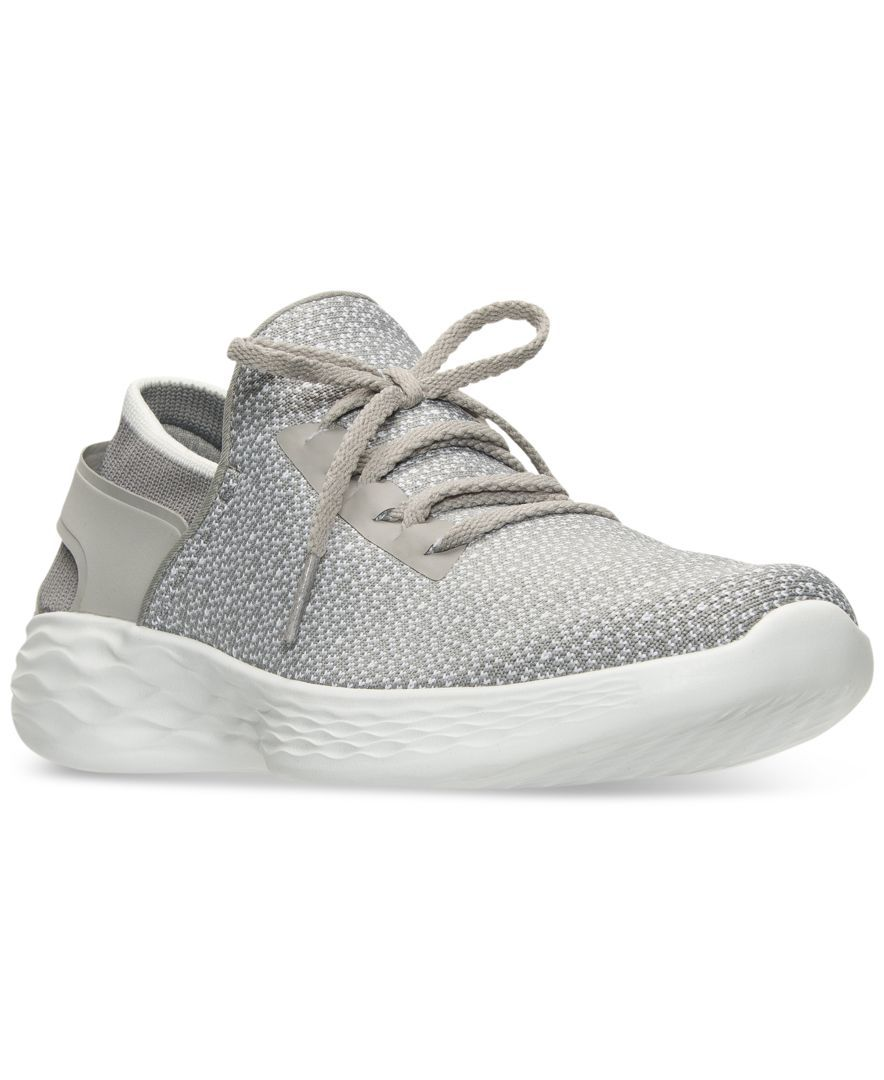3f3b3d39 Skechers Women's You Lace-Up Casual Walking Sneakers from Finish Line