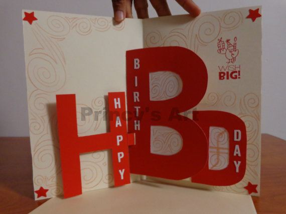 Send a very special birthday greetings with simple yet innovative send a very special birthday greetings with simple yet innovative pop up way to your dear one when you open this card your warm wishes will be c m4hsunfo