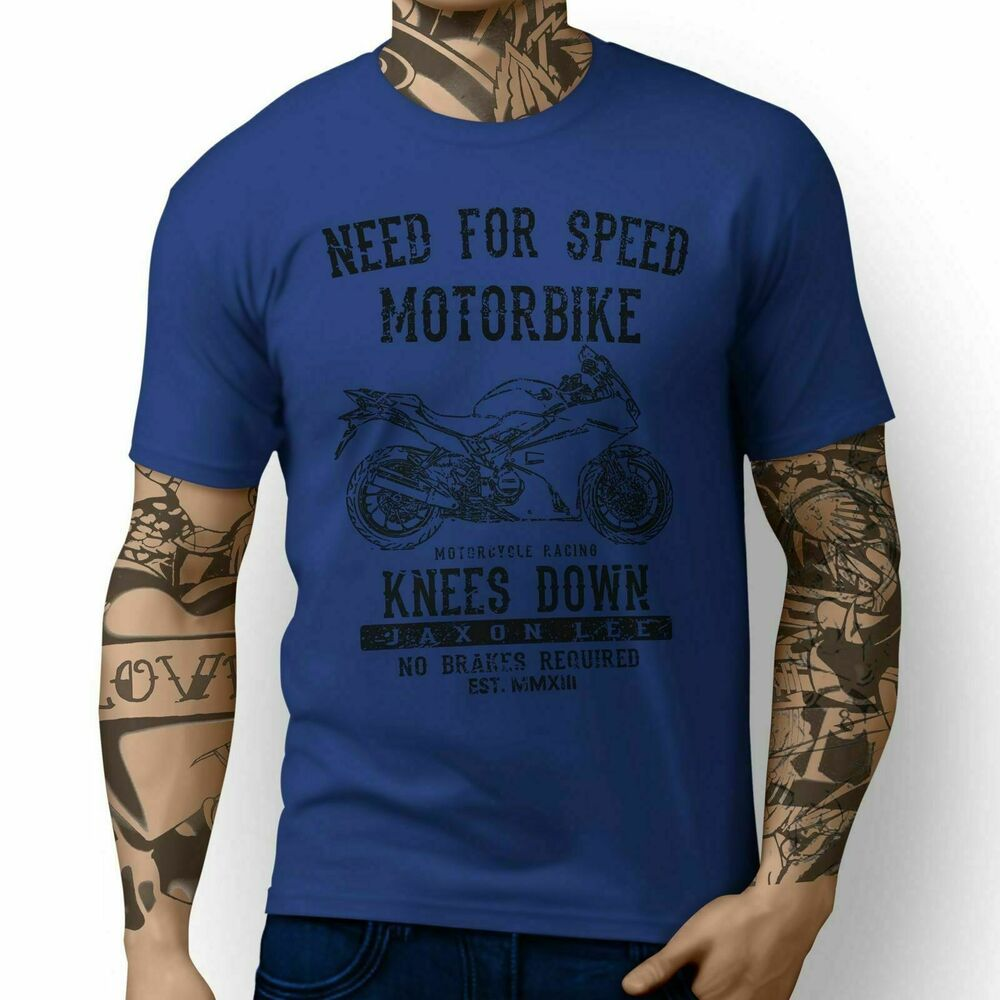 JL Speed Honda VFR800F inspired Motorbike Art T-shirts