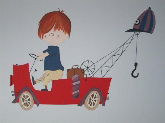muurschilderingen kinderen - Google Search