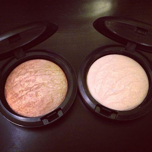 MAC Soft & Gentle / Lightscapade highlighting powder
