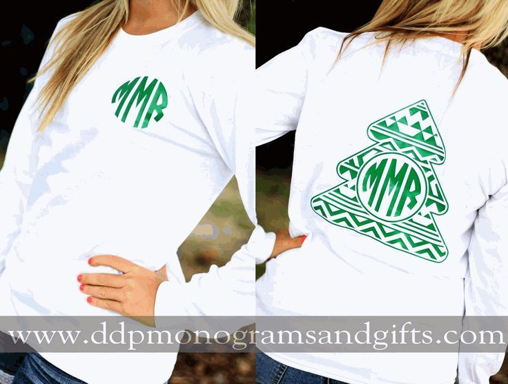 Personalized full back aztec christmas tree long sleeve shirt mens personalized gifts for all occasions baby wedding graduation and more adding a personal touch is easy when you shop with us negle Images