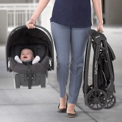 Chicco Shuttle Caddy Car Seat Carrier - Black | Baby car ...
