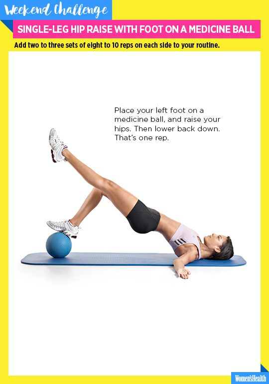 Get a Booty Even J.Lo Would Envy with This Exercise Move  http://www.womenshealthmag.com/fitness/single-leg-hip-raise-with-foot-on-a-medicine-ball-challenge?cid=NL_WHDD_-_09032015_GetaBootyEvenJLoWouldEnvy