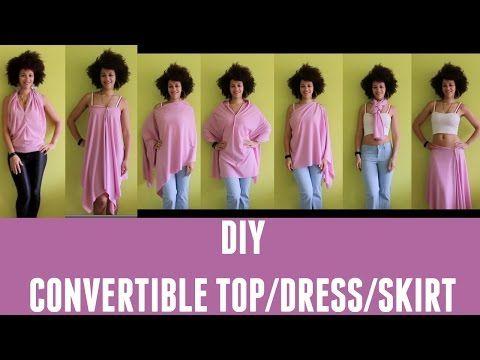 3da41998dcb2d LOOKBOOK   DIY Convertible Top/Skirt/Dress   DIY Travel Clothes - YouTube