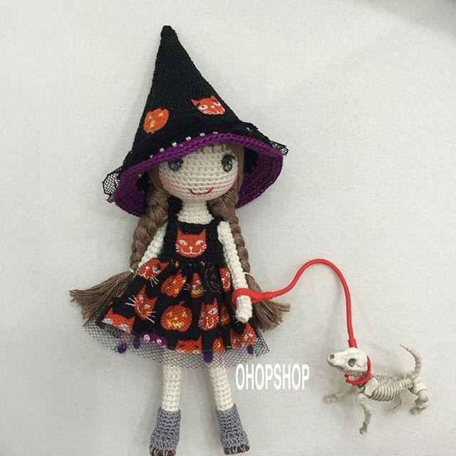 Pin von Turpin auf travaux manuel | Pinterest | Halloween, Puppen ...