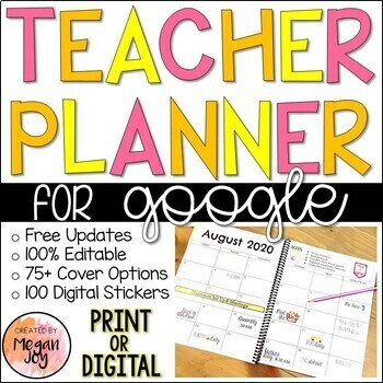 Editable Teacher, Maternity, & Substitute... by Megan Joy