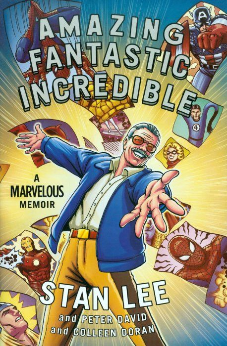 Graphic Description Trailer Stan lee, Graphic novel, The
