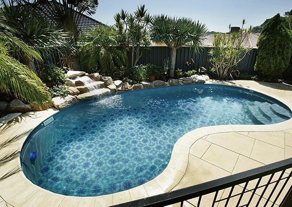 When Triangles Meet Swimming Pools We Have Triangle Swimming Pool Tiles Click The Link Below For The Stor Pool Designs Pool Tile Designs Mosaic Pool Design