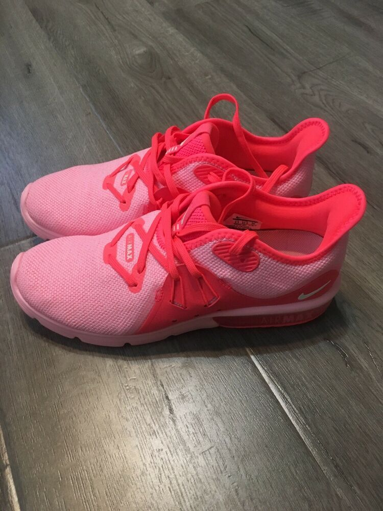 Nike Air Max Sequent 3 Womens 908993 601 Size 9 Pink New