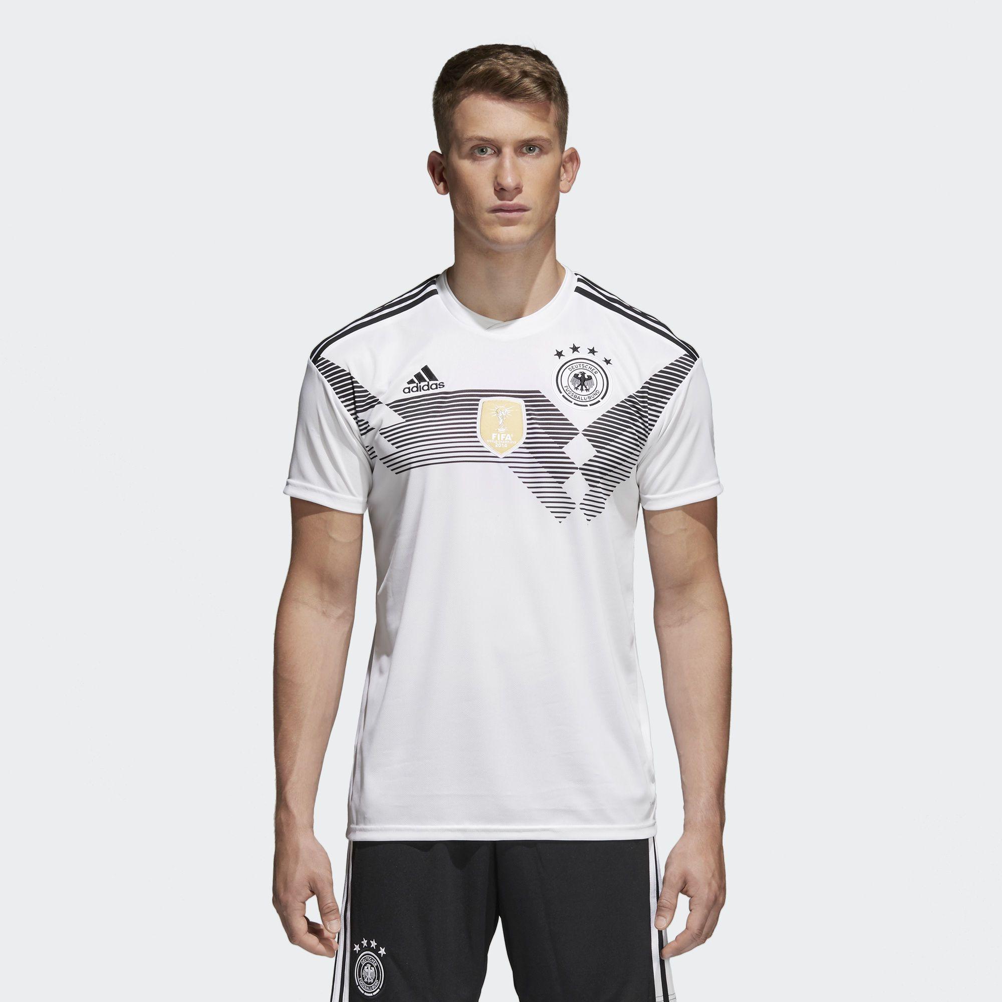 Camiseta Oficial Selección de Alemania Local 2018 - Blanco en adidas.co!  Descubre todos los estilos y colores disponibles en la tienda adidas online  en ... cf33b9933dc