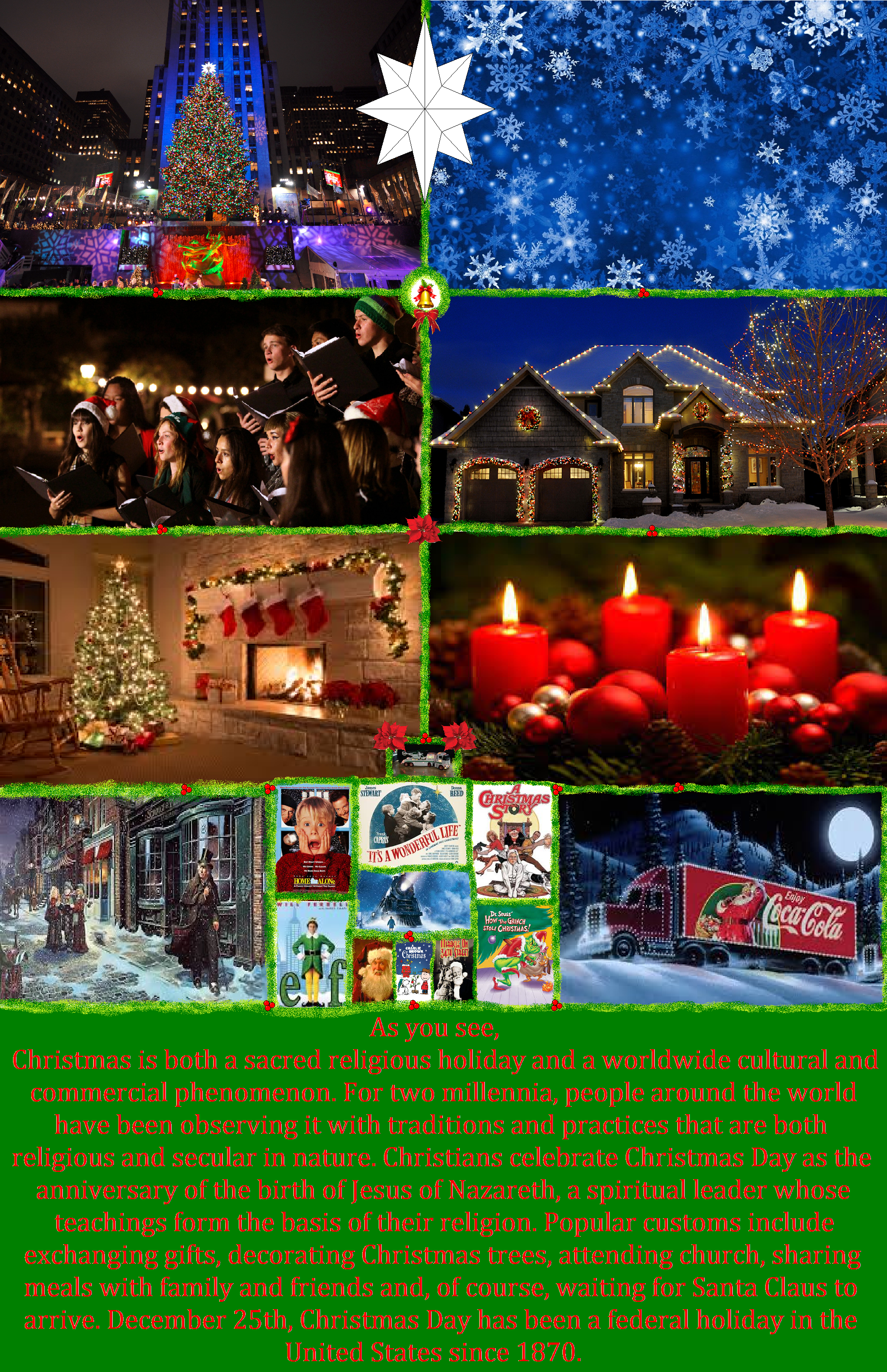 the last page of how people get into the christmas spirit - How To Get Into The Christmas Spirit