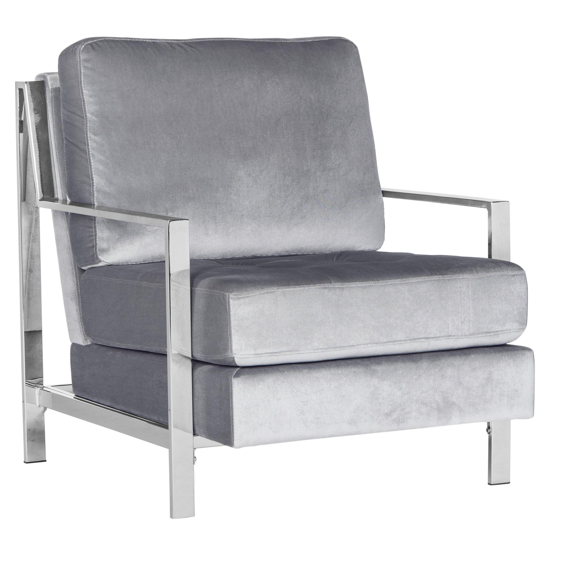 Park Art My WordPress Blog_Velvet Rocking Chair Light Grey Ellan