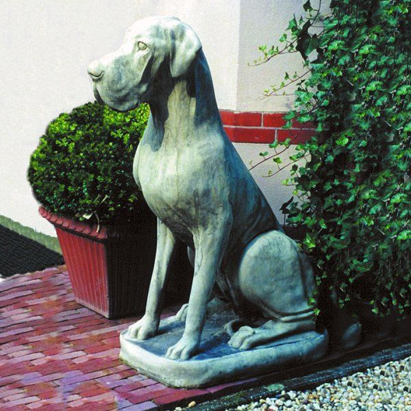 Male Great Dane Dog Garden Statue Dog Statues With Images