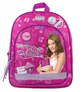 Disney Violetta School Backpack Kids Children Purple