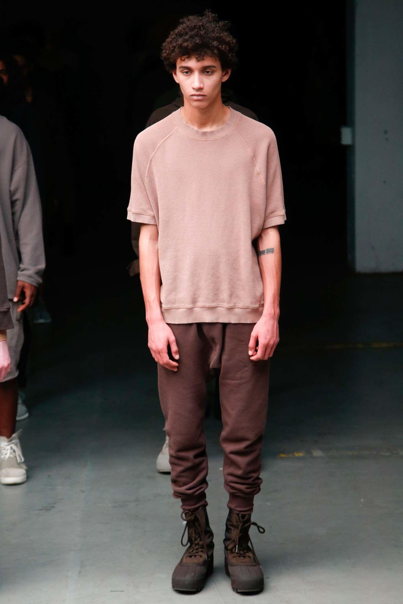 Yeezy fall menswear fashion show the oujays menswear and